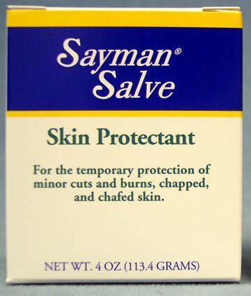 Image 0 of Sayman Salve Skin Protectant 2oz