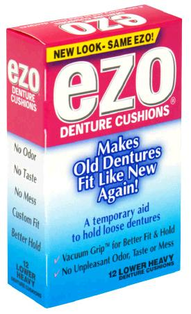 Image 0 of Ezo Denture Cushions Lower Heavy 15 Ct.