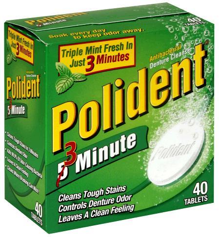 Polident Original 40 Tablets