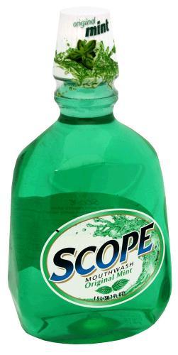 Scope Mouthwash Original Mint Liquid 1.5 Lt