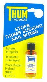 Thum Stops Thumb Suking-Nail Biting Liquid 0.2 Oz