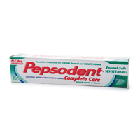 Pepsodent Complete Care With Enamel Safe Whitening Toothpaste 6 oz