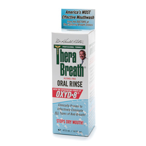 Therabreath Oral Rinse Liquid 16 Oz
