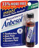 Anbesol Regular Strength Oral Anesthetic 0.41 oz