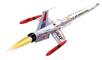Estes Interceptor E rocket kit