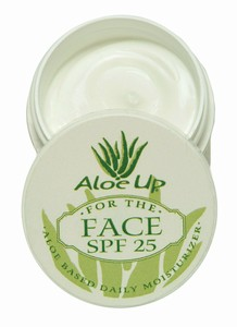 Aloe Up For The Face SPF 25 1 oz Jar