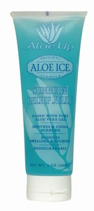 Aloe Up Aloe Ice Sunburn Relief Jelly 4 oz Tube