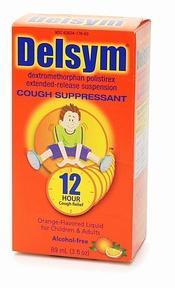 Delsym Childrens Cough Suppressant 12 Hour Orange Flavor Liquid 5 Oz