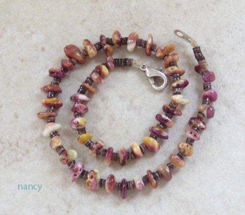 Santo Domingo Made Spiny Oyster & Heishi Ankle Bracelet - 0501rio