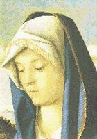 Madonna by Bellini Cross Stitch Pattern
