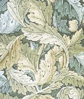 Acanthus Leaves William Morris Cross Stitch Pattern