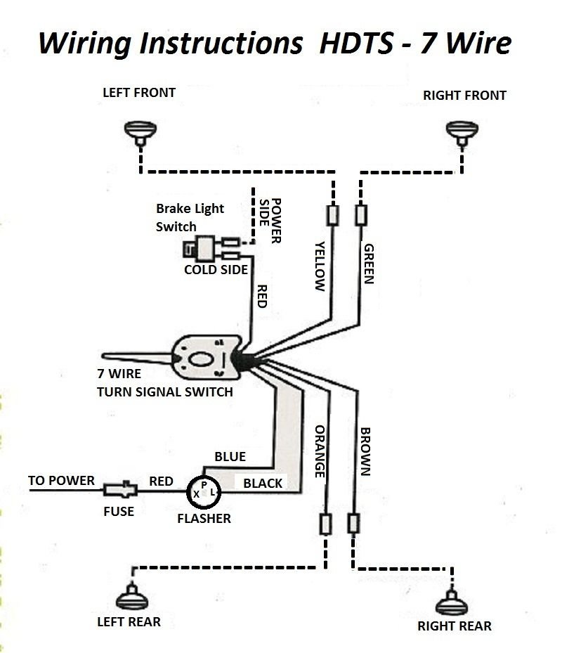 Diagram  Turn Signal Flasher Wiring Diagram Full Version
