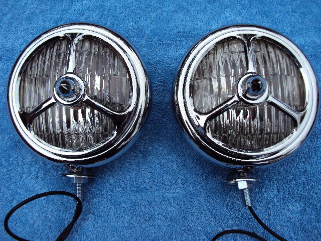 Clear Missel Tribar Fog Driving Lights