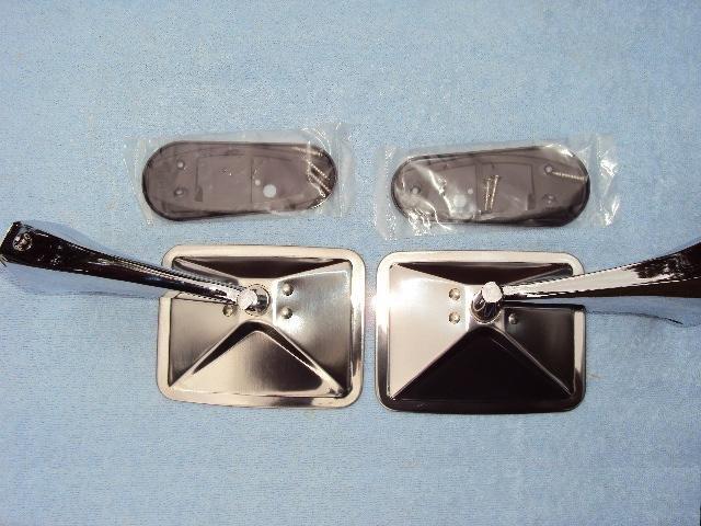 1970 1972 Chevy Gmc Truck Mirror Set