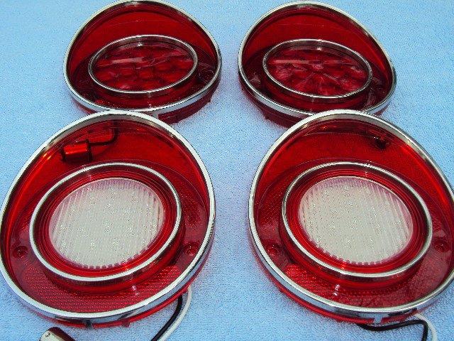 1968 1972 Corvette Tail amp Back up LED Lights