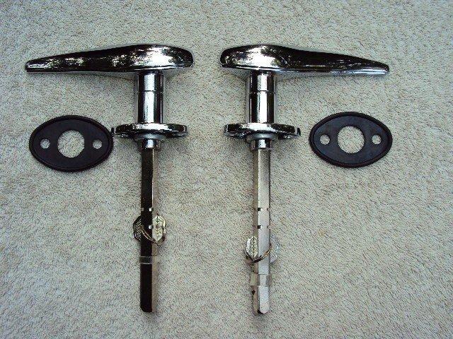 Hot Rod Exterior Locking Door Handles W Keys