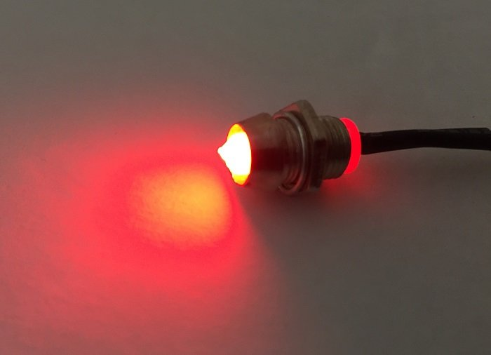 6 volt led turn signal switch indicator light positive or