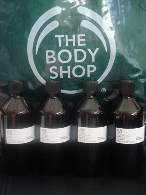 THE BODY SHOP PERFUME OIL ANANYA DISCONTINUED 6.75 OZ.  200 ML.  BOTTLE SALE