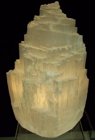 Image 0 of Selenite Mountain Lamp