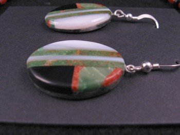 Image 6 of Christopher Nieto, Santo Domingo, Natural Multi Stone Inlaid Necklace