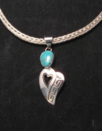 Image 6 of Navajo Woven 18 guage Sterling Silver Rope Necklace 2 lengths, Travis Teller