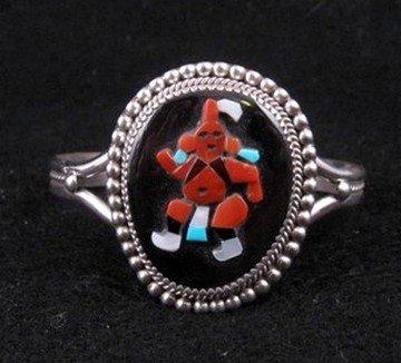 Beverly Etsate ~ Zuni ~ Mudhead Kachina Bracelet