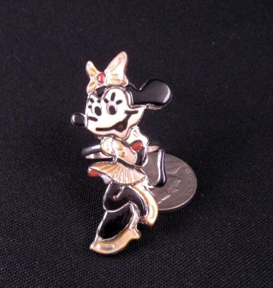 Image 2 of Zuni Disney Minnie Mouse Ring, Andrea Lonjose, sz8-1/2
