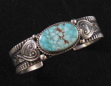 Daniel Sunshine Reeves ~ Navajo ~ Number 8 Turquoise Bracelet