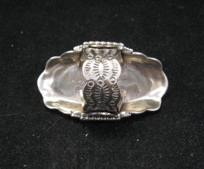 Image 2 of Native American Navajo Indian Turquoise Silver Ring sz6