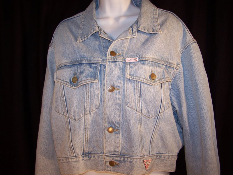 Check out this vintage 1980's authentic Guess? jeans jacket!