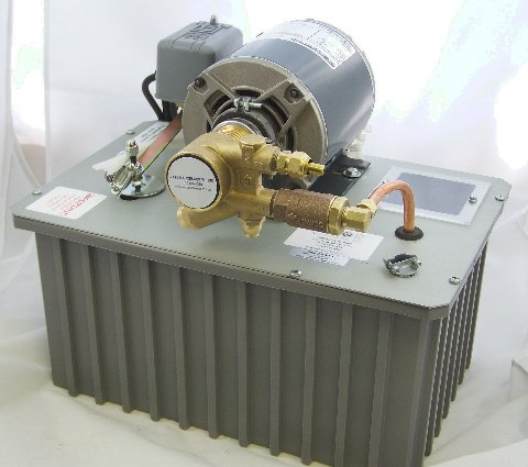 Image 1 of SP-1 Heavy Duty 1/3 HP Elevator Scavenger Pump / Oil Return System