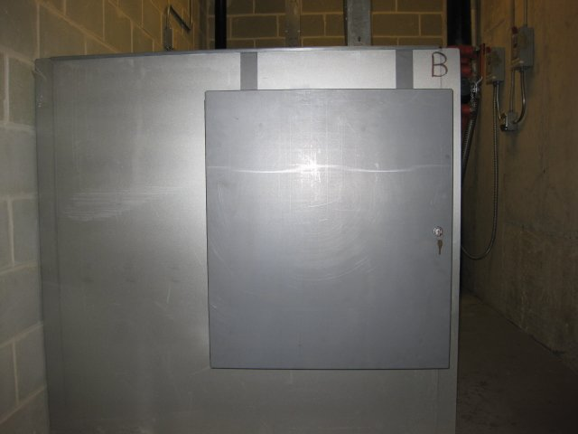Image 1 of DISCONTINUED TC-1 Machine Room Door Tool Cabinet