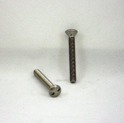 Image 0 of Tamperproof Spanner Screws 8-32 x 3 STAINLESS STEEL 50 Pack