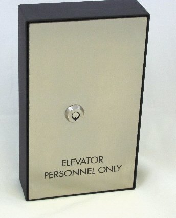MKB-50108 Elevator Personnel Only Machine Room Key Box with 1 key