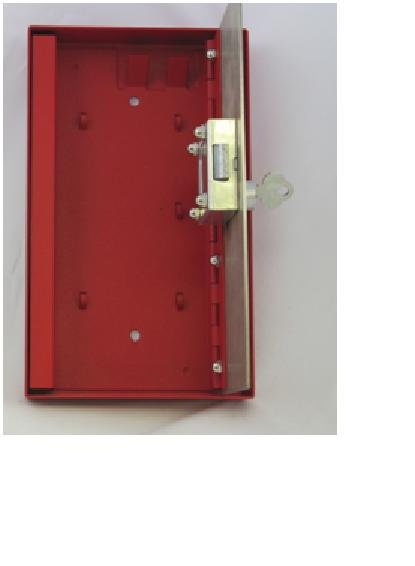 Image 1 of FSKB-25460 Elevator Fire Service Key Box, 25460 Lock