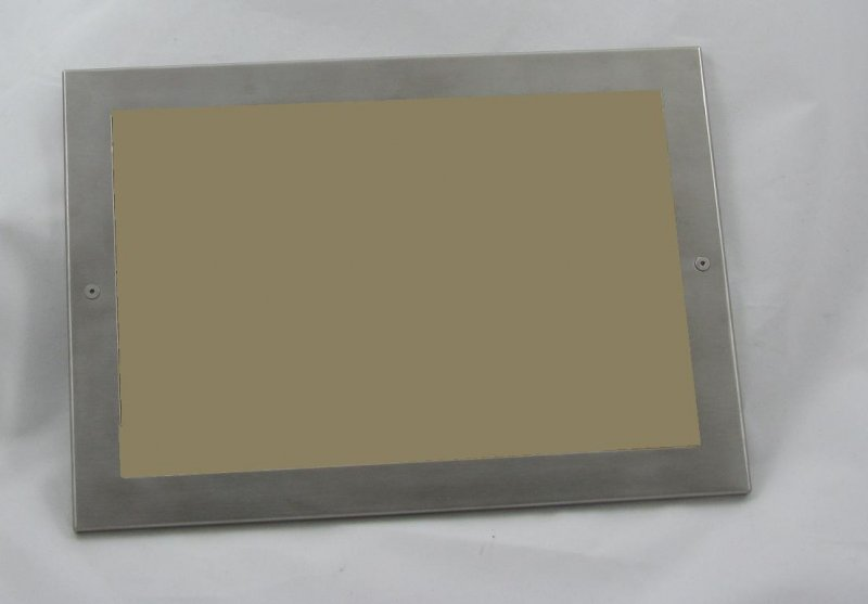 Image 0 of CF2X35 Stainless Steel Certificate Frame, Business Card Size