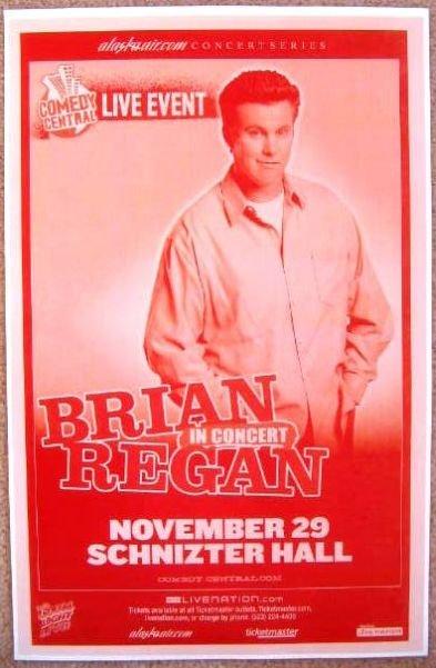 Image 0 of Regan BRIAN REGAN 2007 Gig POSTER Portland Oregon Comedy