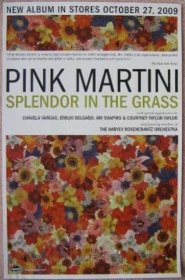 Image 0 of PINK MARTINI POSTER Splendor In The Grass Album 11x17 (Version 2)