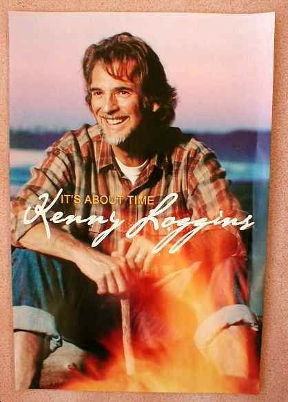 Loggins KENNY LOGGINS POSTER It s About Time Album 16x24
