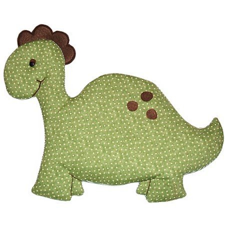 Image 1 of Dinosaur Personalized Kids Fabric Art Designs Decor Growth Charts