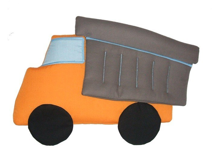 Dump Truck Personalized Kids Fabric Art Designs Decor Growth Charts