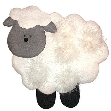 Image 0 of Lamb Personalized Kids Fabric Art Designs Decor Growth Charts