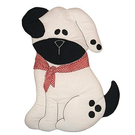 Image 1 of Puppy Personalized Kids Fabric Art Designs Decor Growth Charts