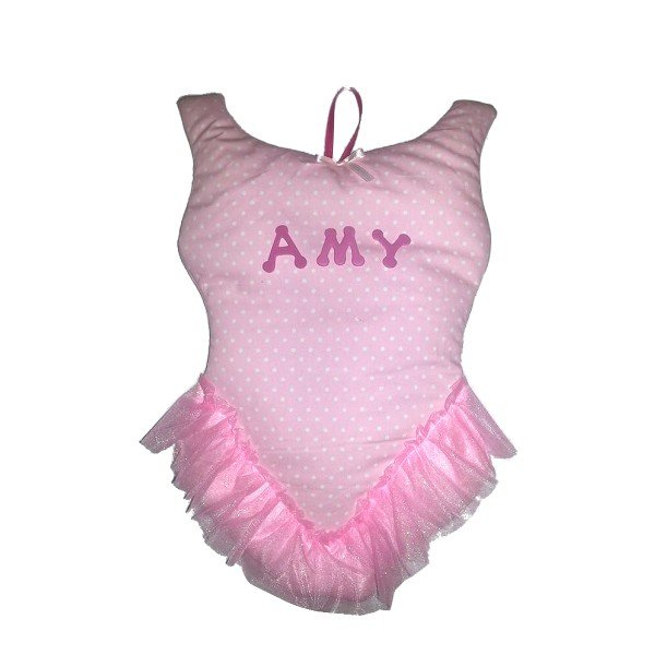 Image 0 of Tutu Personalized Kids Fabric Art Designs Decor Growth Charts