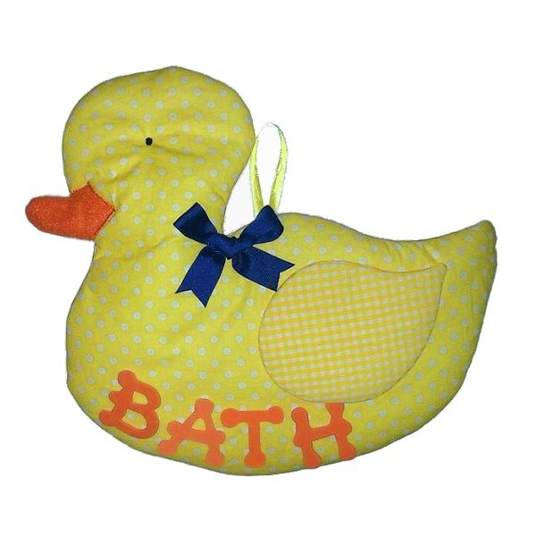 Image 0 of Duck Personalized Kids Fabric Art Designs Decor Growth Charts