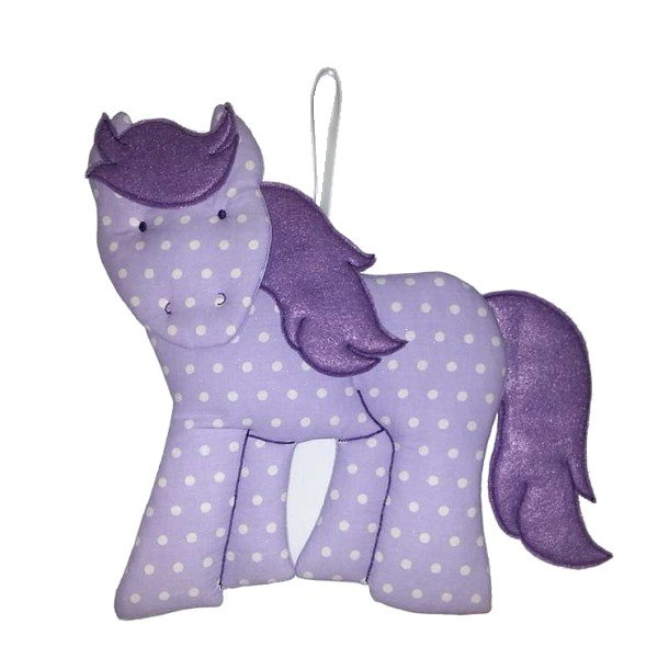 Image 0 of Horse Personalized Kids Fabric Art Designs Decor Growth Charts
