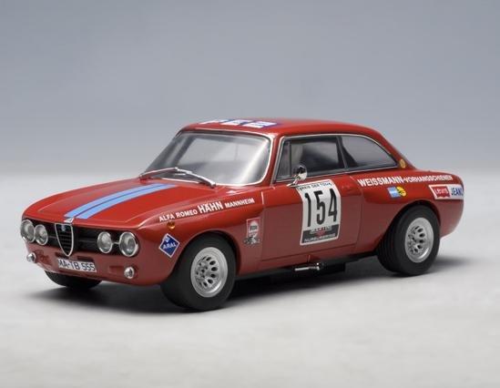 AUTOArt Alfa Romeo Giulia GTAm Hahn DRM 1971 1/32 Slot Car #13671