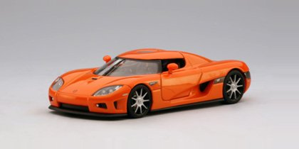 AUTOart KOENIGSEGG CCX 1/32 Slot Car - Orange 13201