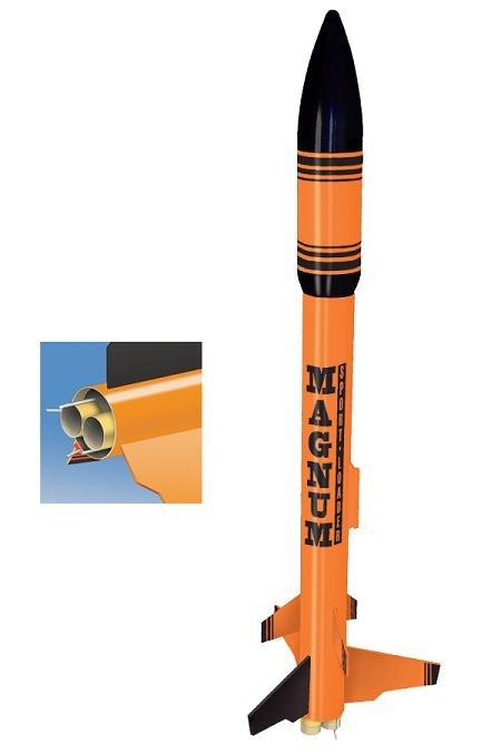 Image 0 of Quest #3012 Magnum Sport Loader Model Rocket Kit