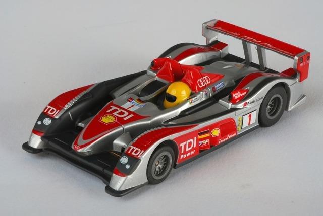 AFX Mega-G Audi R10 #1 HO Slot Car #70295